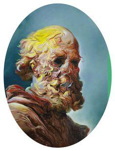 art blog - Glenn Brown -  empty kingdom