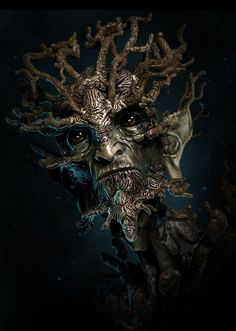Fantasy Forest Creatures | Forest creature Picture (3d, fantasy, creature, tree)