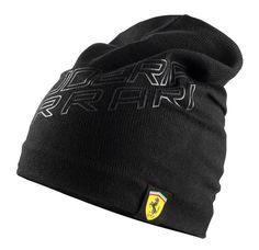 Zimowa czapka Ferrari | Sklep Ferrari fbutik.eu