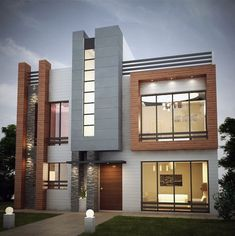 Top 10 House Exterior Design Ideas for 2018 | Luxury houses ...