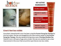 Annique Forever Young Eye Therapy helps to diminish wrinkles, fine lines and crow feet. #LeoniqueSkincare #Annique #AnniqueOnlineProducts #Wrinkles #CrowFeet
