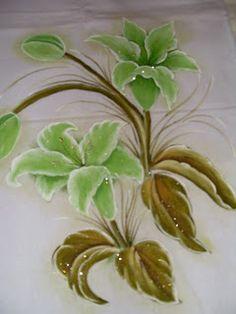 Artesanía: Pintura Telas y ganchillo: paño del plato