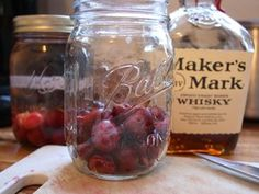 Cherry Infused Whiskey