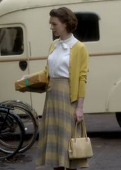 Screen Shot from Call The Midwife.  Love this whole outfit, but for me maybe different colors.