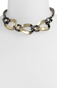 Alexis Bittar 'Lucite®' 3-Link Frontal Necklace (Nordstrom Exclusive) available at #Nordstrom