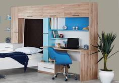 Παιδικό Γραφείο Born 522-05-00 Corner Desk, Loft, Bed, Furniture, Home Decor, Corner Table, Decoration Home, Room Decor, Lofts