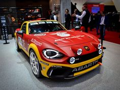 The rally king is back! #Abarth124spider