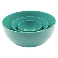 RE PP Nesting Serve bowl set - light blue- target