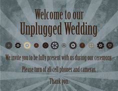Image result for no cell phone until after first dance spanish