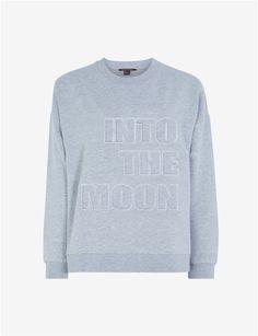 Sweatshirt Gris chine - Sweat collection