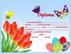 Certificate, Preschool, Classroom, Student, Map, Words, 8 Martie, Movie Posters, Romania