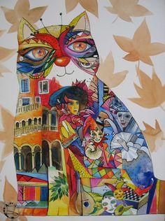 Serie*Venise*1** by oxana zaika on ARTwanted