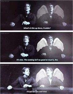 Tears. Lots of them. I'm a sucker for Fred and George