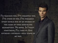 Klaus Mikaelson Quotes Originals Best Quotes  Google Search  The Orignalsilona And