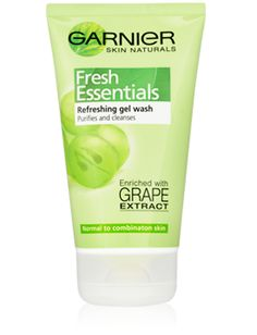 Cleansing Gel Wash with grape water