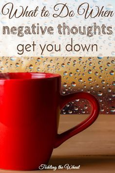 Warding off or alleviating depression can seem daunting. When I'm feeling down, I try these simple mood boosting tricks. 9 Things to Do When Negative Thoughts Start to Weigh You Down