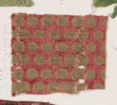 Fragment Date: 15th century Culture: Italian Medium: Silk Dimensions: a: 10 1/2 x 12 in. (26.7 x 30.5 cm) b: 4 x 4 1/8 in. (10.2 x 10.5 cm) Classification: Textiles-Velvets