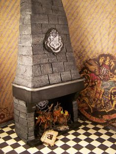 19th Day Miniatures Works in Progress: Update, Now Sold-Dollhouse Miniature Harry Potter ...