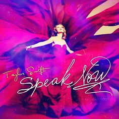 Taylor Swift Speak Now CDcover by feel-inspired