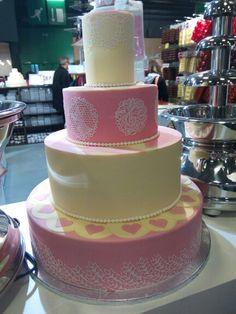 Gâteau rose