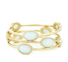 Sole Society Accessories - SKINNY BANGLE SET
