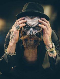 Beard 'N Bones featured on @darkbeautymag ... |Photographer Marc Hayden…