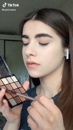 Doll Eye Makeup, Edgy Makeup, Eye Makeup Art, Skin Makeup, Eyeshadow Makeup, Flawless Face Makeup, Glamour Makeup, Beauty Makeup, Makeup Tutorial Eyeliner