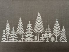 Very pretty winter cross stitch