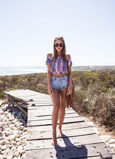 Top from NLY Trend (adlink) // shorts from Rebecca Stella for Nelly // bag from Thailand God...