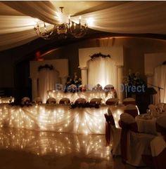 Fairy lights table decoration