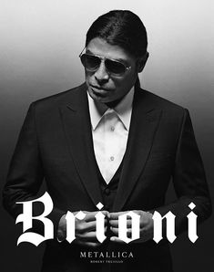 Metallica and Brioni Team Up - Metallica