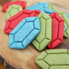 Learn How To Make Zelda Rupee Sugar Cookies