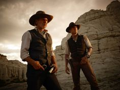Love everything about this... (harrison ford and daniel craig in 'Cowboys and Aliens')