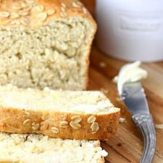 No Yeast Bread, Yeast Bread Recipes, Bread Machine Recipes, Bread Baking, Baking Recipes, Baking Tips, Homade Bread Recipes, Recipes With Bread, Yeast Free Breads