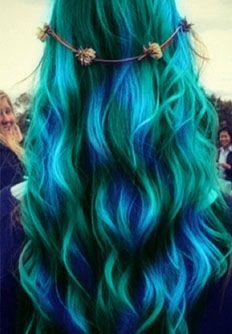I Want to Be a Mermaid: Hair-spiration Galore! - Alternative Fashion & Lifestyle - styleBizarre