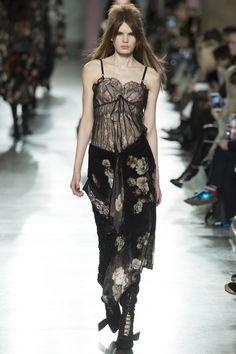Preen by Thornton Bregazzi Fall 2016 Ready-to-Wear Fashion Show - Sophie Rask