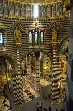 Le volte del Duomo di Siena