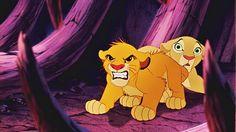 Walt Disney Screencaps - Simba & Nala
