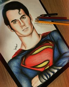 The Superman Henry Cavill by fanart by @NubiaEmDetalhes