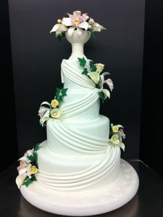 """""""Spring Blooms Eternal"""" By kmgray on CakeCentral.com"""