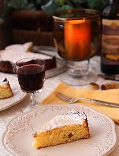 Wine Cake From The Tuscan Sun Cookbook