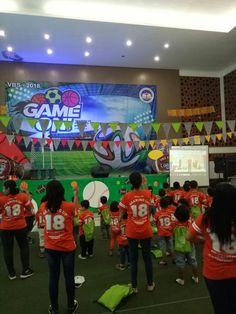 Worship rally VBS 2018 Game On#Sekolah Kristen Kalam Kudus Yogyakarta