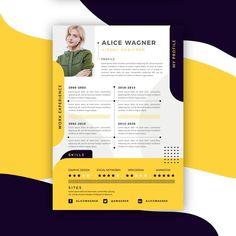 Resume Writing Services, Resume Writing Tips, Resume Tips, Modern Resume Template, Resume Template Free, Creative Resume Templates, Free Resume, Icones Cv, Resume Designer