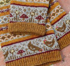 Fair Isle Knitting Patterns, Fair Isle Pattern, Knitting Charts, Knitting Stitches, Knit Patterns, Baby Knitting, Fair Isle Chart, Tejido Fair Isle, How To Purl Knit