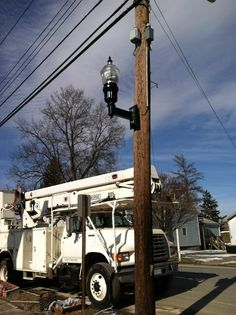 I worked to get these new street lights on Main Street in Whitney Point. They are energy efficient and save taxpayer money by reducing costs on energy bills.
