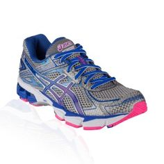 Asics - GT 1000 V2 Running Shoe - Lightning/Dazzling Blue/Hot Pink
