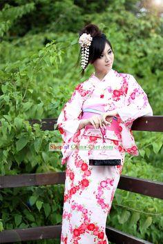 Japanese Traditional Kimonos Women | ... Costume Costumes Japan Kimonos Dress Clothing Traditional Folk Clothes