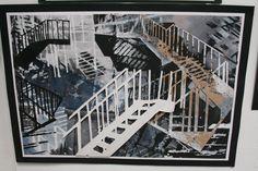 Expressive Final outcome Higher Morrison's Academy Architecture Drawings, Architecture Details, Gcse 2017, Advanced Higher Art, Portfolio Ideas, Building Art, High School Art, Sense Of Place, Ap Art