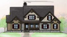 Craftman Style Home...maybe if I ever build a house
