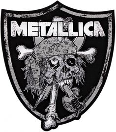 #Patch METALLICA - Raider Skull #metallica www.rockagogo.com
